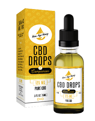 125 MG Pure CBD Drops