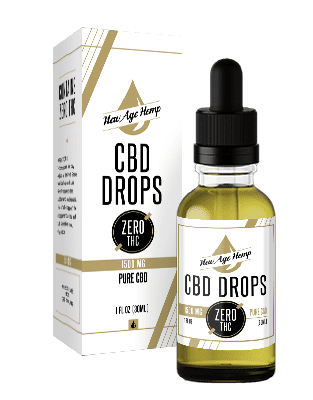 1500 MG Pure CBD Drops