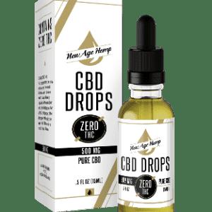 500 MG 0 THC CBD Drops