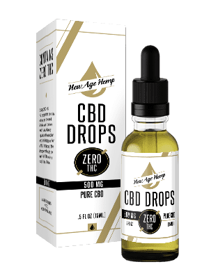 500 MG Pure CBD Drops